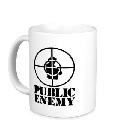 Керамическая кружка Public Enemy