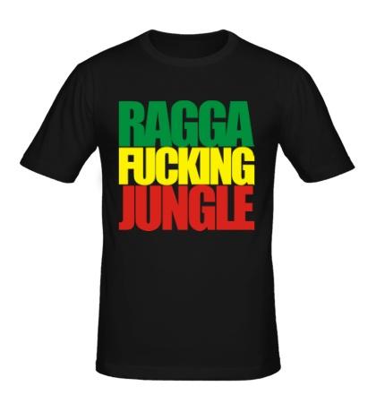 Мужская футболка Ragga Fucking Jungle