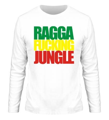 Мужской лонгслив Ragga Fucking Jungle