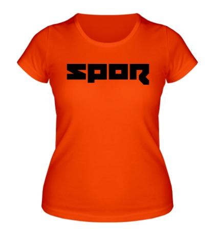 Женская футболка Spor