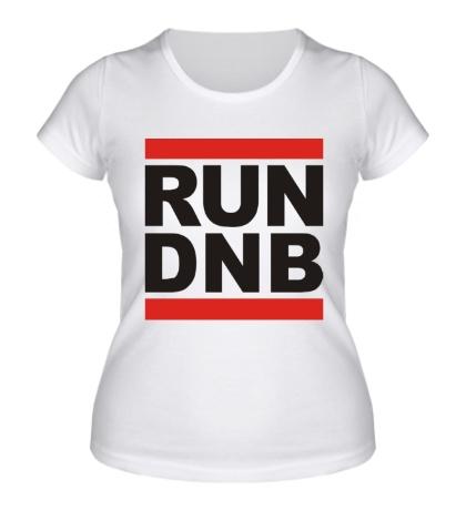 Женская футболка Run dnb