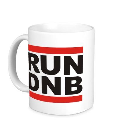 Керамическая кружка Run dnb