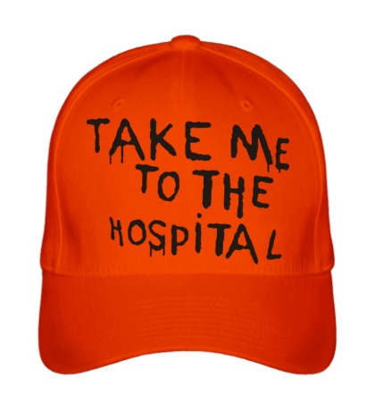 Бейсболка Take me to the hospital