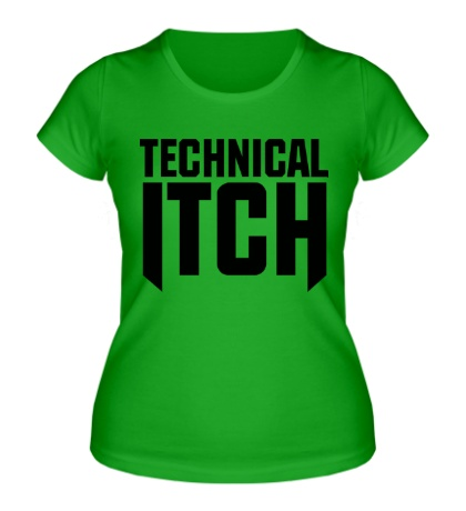 Женская футболка Technical Itch