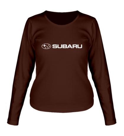 Женский лонгслив Subaru Line