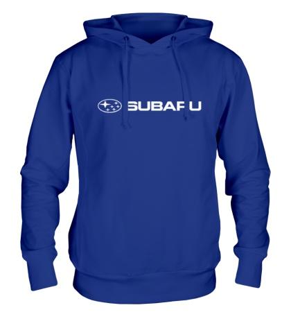 Толстовка с капюшоном Subaru Line