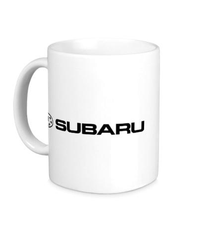Керамическая кружка Subaru Line