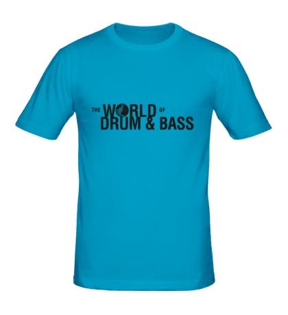 Мужская футболка The World of Drum & Bass