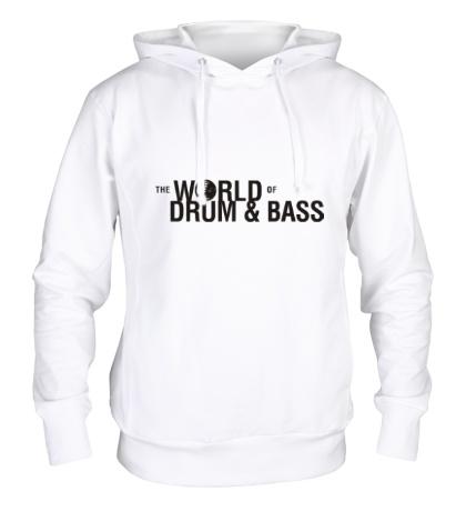 Толстовка с капюшоном The World of Drum & Bass