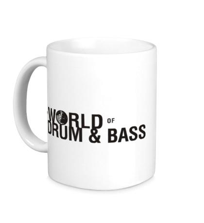Керамическая кружка The World of Drum & Bass