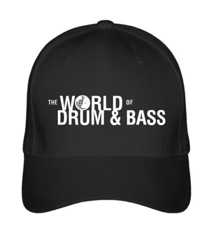 Бейсболка The World of Drum & Bass