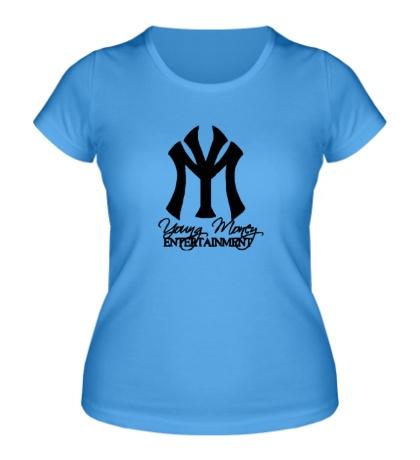 Женская футболка Young Money