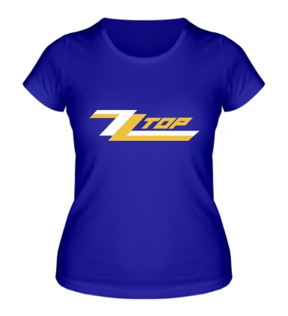 Женская футболка ZZ Top
