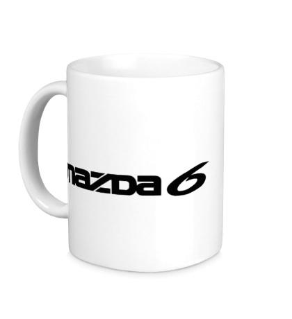 Керамическая кружка Mazda 6