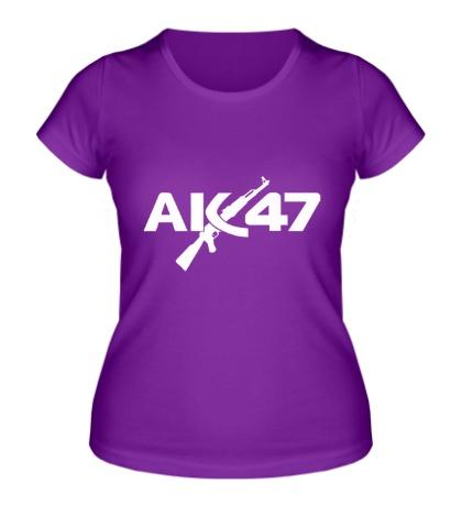 Женская футболка АК-47