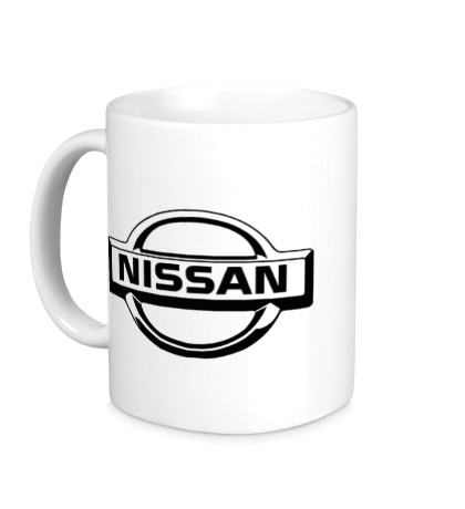 Керамическая кружка Nissan Mark