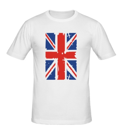 Мужская футболка Британский флаг