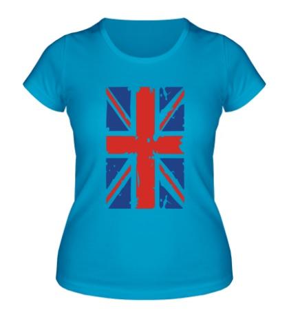 Женская футболка Британский флаг