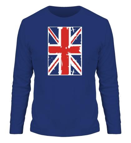Мужской лонгслив Британский флаг