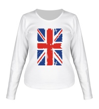 Женский лонгслив Британский флаг
