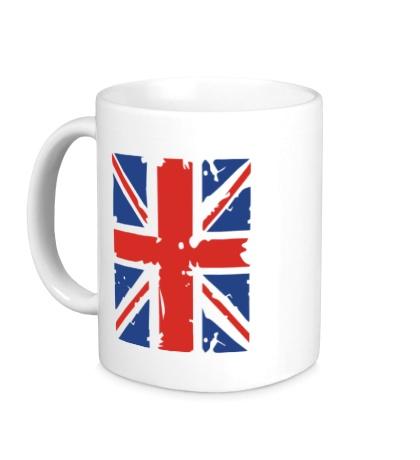 Керамическая кружка Британский флаг