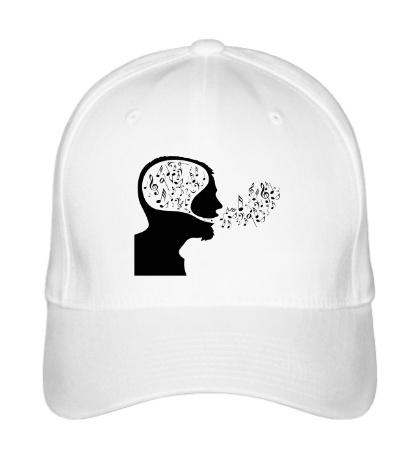 Бейсболка Ноты в голове