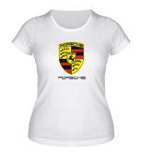 Женская футболка Porsche