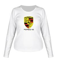 Женский лонгслив Porsche