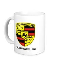 Керамическая кружка Porsche