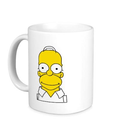 Керамическая кружка Гомер Симпсон