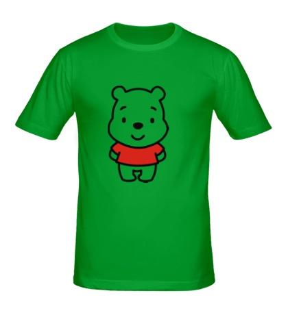 Мужская футболка Маленький Винни Пух