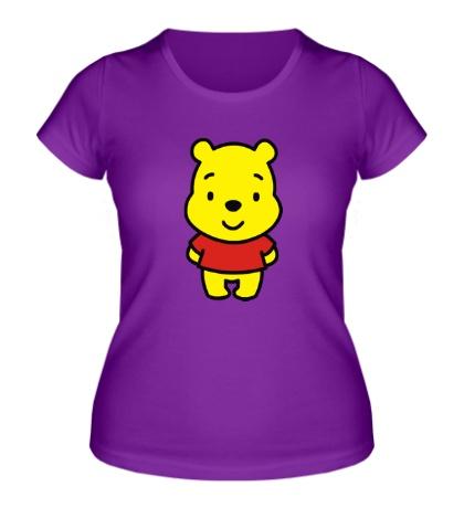 Женская футболка Маленький Винни Пух