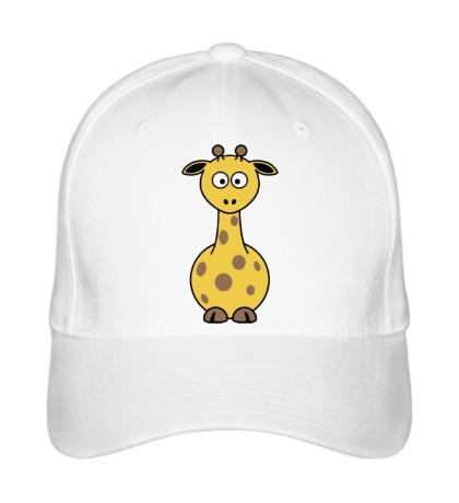 Бейсболка Шокированный жираф