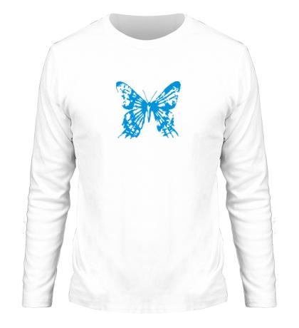 Мужской лонгслив Бабочка