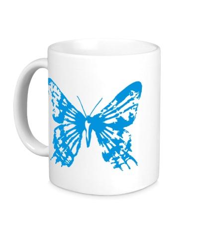 Керамическая кружка Бабочка