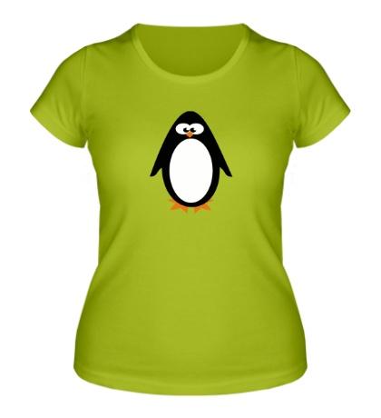 Женская футболка Маленький пингвин