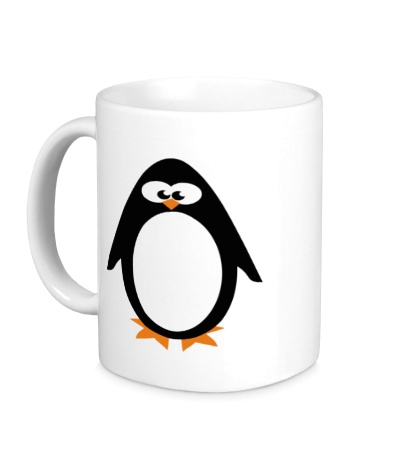Керамическая кружка Маленький пингвин
