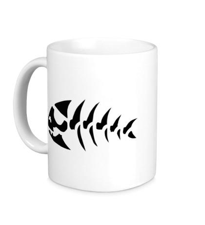Керамическая кружка Символ рыбы