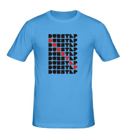 Мужская футболка Dub Step Lines