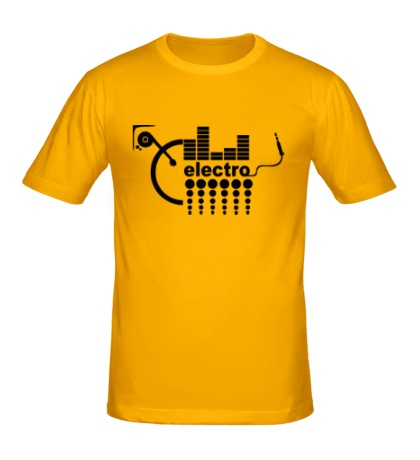 Мужская футболка Electro Equalizer