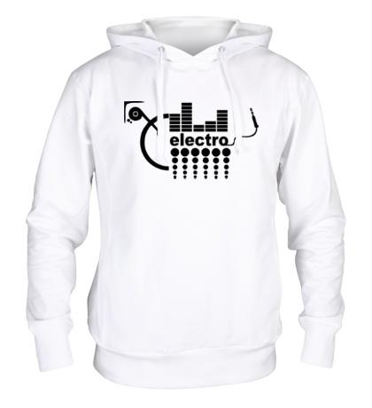 Толстовка с капюшоном Electro Equalizer