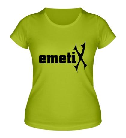 Женская футболка EmetiX