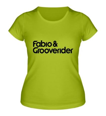 Женская футболка Fabio Grooverider
