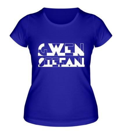Женская футболка Gwen Stefani