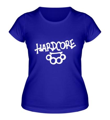 Женская футболка Hardcore Hooligans
