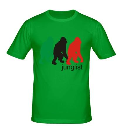 Мужская футболка Jungllist Gorillaz