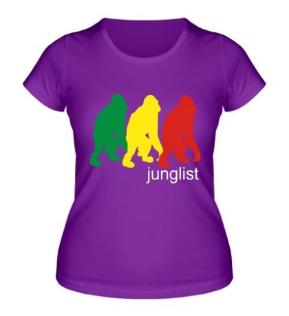 Женская футболка Jungllist Gorillaz