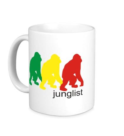 Керамическая кружка Jungllist Gorillaz