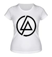 Женская футболка Linkin Park Symbol