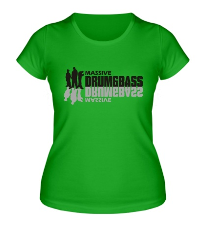 Женская футболка Massive Drum&Bass